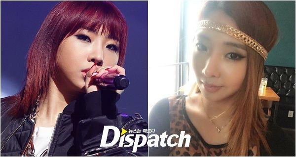 """""""มินจี 2NE1""""โพสต์ภาพเจอชาวเน็ตแซวนักร้องหน้าใหม่อัพหน้าจำแทบไม่ได้"""