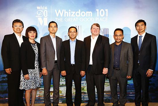 "MQDC บุกเบิกแนวคิดใหม่ เปิดตัว ""Whizdom 101"" ระดมพันธมิตรระดับโลก เนรมิตคอมมูนิตีแห่งอนาคตบนพื้นที่ 43 ไร่"