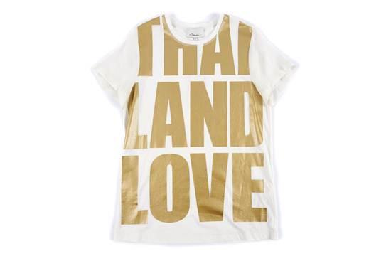 """เสื้อยืดสกรีน """"Thailand Love"""" จาก Phillip Lim"""