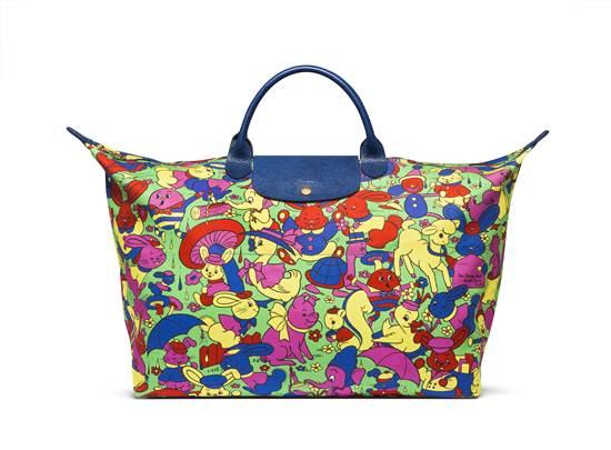 Le Pliage® กระเป๋าลวดลายคาแรกเตอร์ตัวการ์ตูนในเรื่อง Humpty Dumpty จาก Longchamp