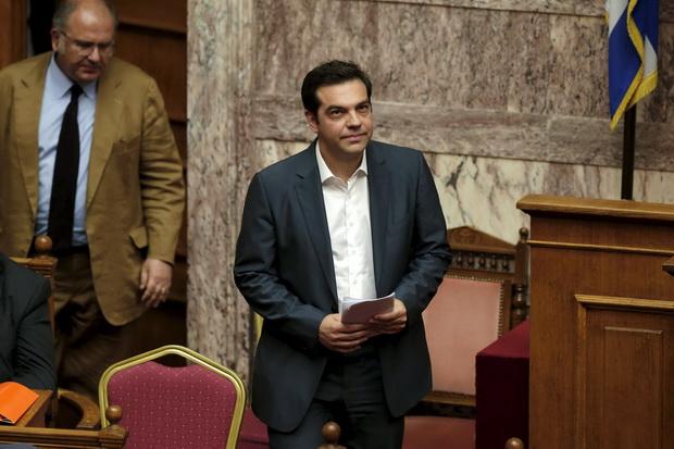นายอเล็กซิส ซีปราส นายกรัฐมนตรีกรีซปรับคณะรัฐมนตรีขนานใหญ่เมื่อวันศุกร์(17ก.ค.)