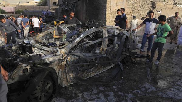 ISเหี้ยม!จัดคาร์บอมบ์บึมตลาดอิรัก ตึกถล่มทับคนตายเป็นเบือกว่า100ศพ