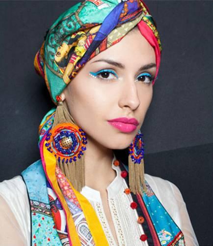 [24-7]M.A.C อวดเทรนด์แต่งหน้าเก๋ๆ สไตล์อินเดียน บนรันเวย์ Wills India Fashion Week