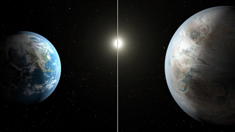 """""""เคปเลอร์-452บี"""" ดาวเคราะห์ใหม่เกือบจะเป็นแฝดโลก"""