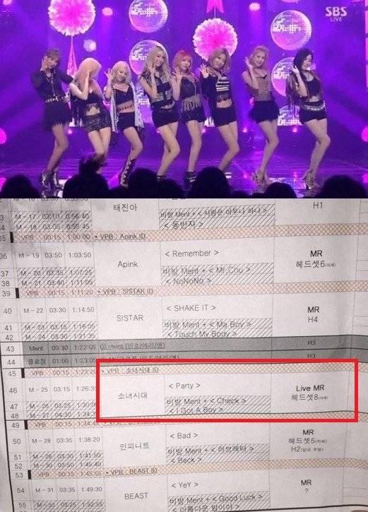 อายไหม? Girls' Generation ลิปซิ้ง!! ศิลปินอื่นร้องสดกันหมด