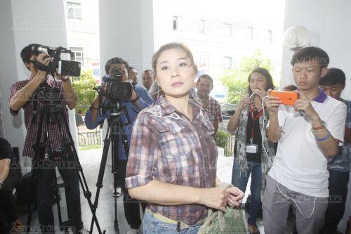 นางรินดา ปฤชาบุตร ผู้ต้องหาคดีปล่อยข่าวใส่ร้ายนายกรัฐมนตรี (แฟ้มภาพ)
