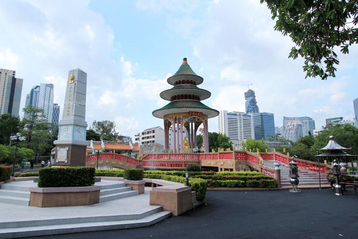 ไต้ฮงกง บริเวณตรงกลางของสวนสวย