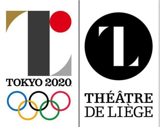 ไม่ได้ลอก! โลโก้โตเกียวโอลิมปิกถูกจับผิดว่าเหมือนโลโก้โรงละครเบลเยี่ยม