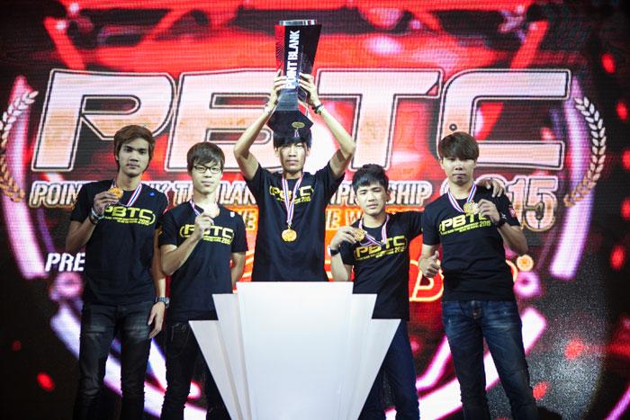 """เทพสไนเปอร์นำ """"Definite GZ-Gaming"""" คว้าแชมป์ """"PBTC2015"""""""