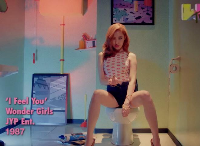 """(ชมคลิป) นุ่งชุดว่ายน้ำเล่นดนตรี """"Wonder Girls"""" ปล่อย MV I Feel You"""