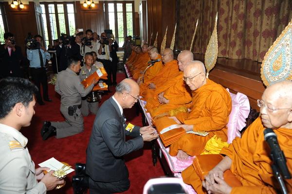 พิธีถวายทุนเล่าเรียนหลวงสำหรับพระสงฆ์ไทย