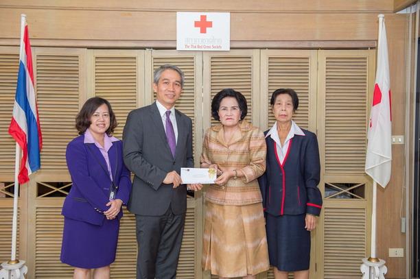 ไทยพาณิชย์ส่งมอบเงินบริจาค ช่วยเหลือผู้ประสบภัยแผ่นดินไหวเนปาล กว่า 35 ล้านบาท