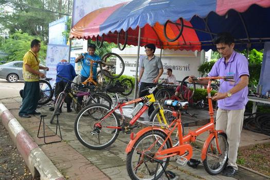 ศูนย์ฝีมือแรงงานอุดรฯ เปิดเช็กซ่อมจักรยานฟรีรับปั่น Bike for Mom 16 ส.ค.นี้