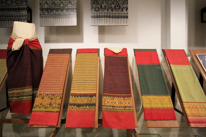 ผ้าสวยๆ ที่รวบรวมไว้ในพิพิธภัณฑ์โกมลผ้าโบราณ