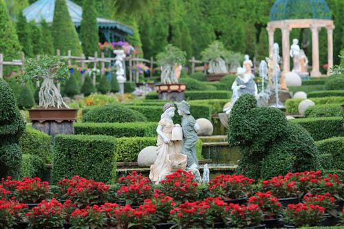 จุดสวยงามในสวนนงนุช