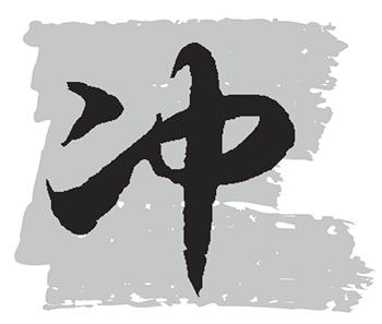 ชง 冲 ในภาษาและวัฒนธรรมจีน