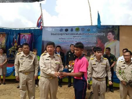 """คนไทยพร้อมใจปลูกป่า-ปล่อยพันธุ์ปลาเฉลิมพระเกียรติ """"พระราชินี-พระเทพฯ"""""""