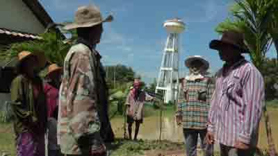 ชาวบ้านบุรีรัมย์โวยถังประปาหมู่บ้านทรุดใช้การไม่ได้ หลังใช้งบกว่า 7 แสนซ่อม เสี่ยงล้มทับ