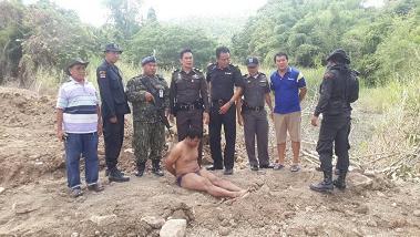 รวบหนุ่มหนีหมายจับคดีลักทรัพย์ ขอผ่านด่านพุน้ำร้อนไปหาแฟนสาวฝั่งพม่า