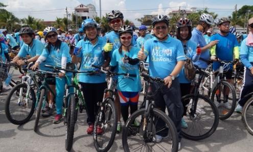 ชลบุรี Bike for mom  กว่า 10,000 คันร่วมเทิดพระเกียรติ ปลอดภัยไร้อุบัติเหตุ