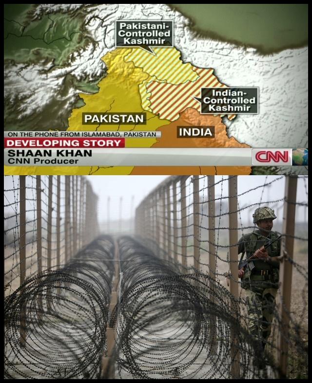 อินเดียเรียกทูตปากีฯพบด่วน หลังจากเกิดปะทะบริเวณพรมแดนแคชเมียร์