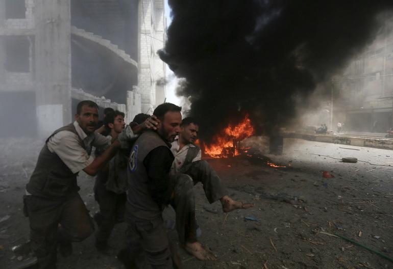 "UN โหวตหนุนแผนเจรจาสันติภาพซีเรีย หลัง ""อัสซาด"" โจมตีพลเรือนดับเกือบ 100 ศพ"