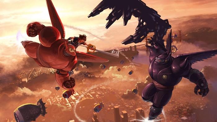 """""""คิงดอมฮาร์ต 3"""" เตรียมบุกโลกหนังแอนิเมชั่น Big Hero 6"""