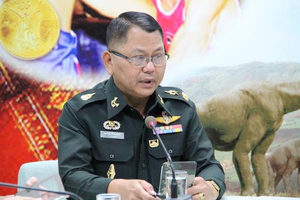 พล.ต.ธรากฤต ทับทองสิทธิ์ ผู้บัญชาการมณฑลทหารบกที่ 23
