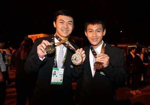 """เยาวชนไทยคว้า """"เหรียญทอง"""" แข่งฝีมือแรงงานระดับโลก """"WorldSkills 2015"""""""