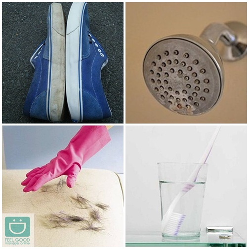 7 สูตรแปลงโฉมของใช้ในบ้าน..สะอาดวิ้งในพริบตา!!