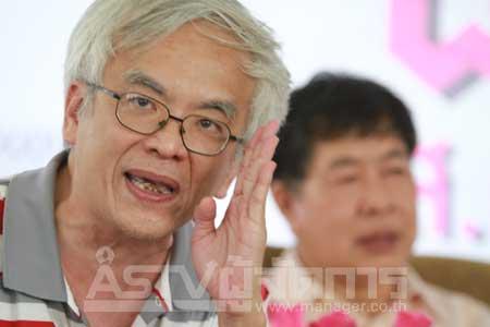 """""""สมศักดิ์ เจียม"""" ชี้บึ้มราชประสงค์ ต้องมีเครือข่ายในไทย ไม่คิดฝีมือแดง-แต่เผยฝรั่งเชื่อว่าใช่"""