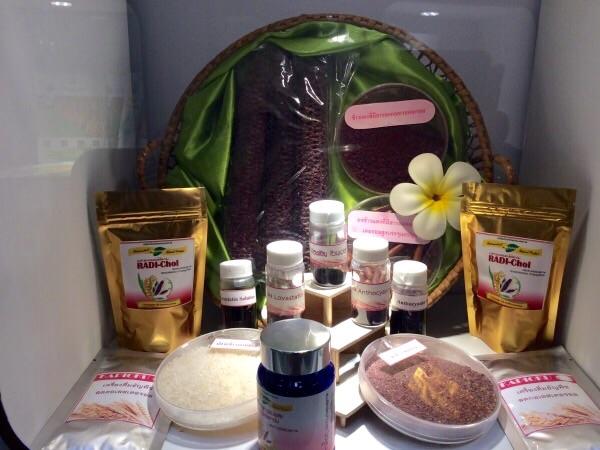 ผลิตภัณฑ์จากจุลินทรีย์บนปลายข้าวมีหลายรูปแบบทั้ง ผง แคปซูล และชา