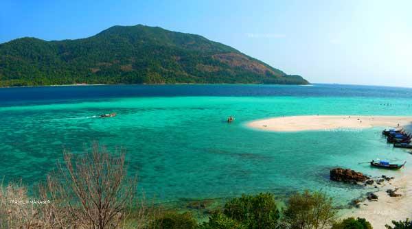 เกาะหลีเป๊ะ 1 ใน 4 เกาะที่ต้องมีการจัดการพิเศษ