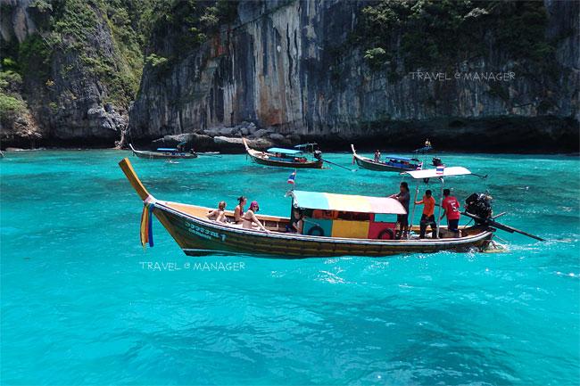 ท้องทะเลอันสวยงามแห่งเกาะพีพีเล