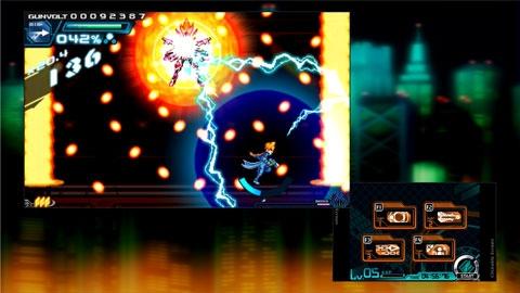 """""""Azure Striker Gunvolt"""" ลงพีซี 28 สิงหา พร้อมโหมดสองหน้าจอแบบ 3DS"""