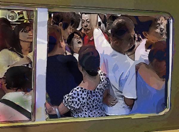 痴漢(Chikan) อันตรายสำหรับหนุ่มๆ ที่โดยสารรถไฟที่ญี่ปุ่น