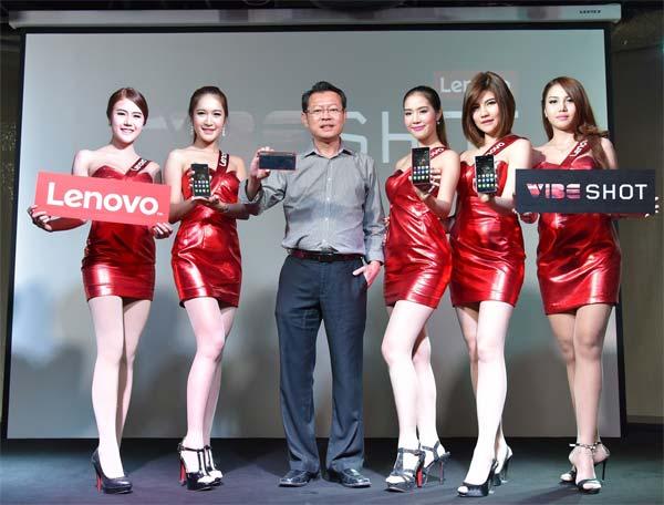 เลอโนโว ชูสมาร์ทโฟน Vibe Shot จับกลุ่มชอบถ่ายภาพ