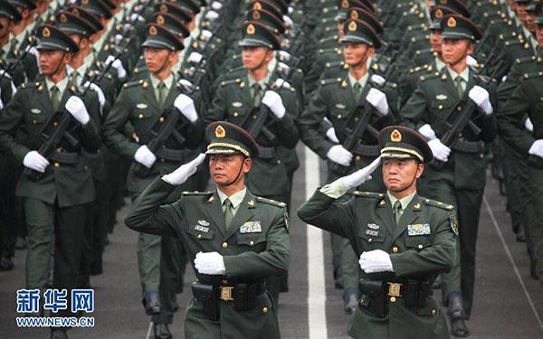 นายพลจีนเอวหด 12 ซม. เหตุซ้อมหนักพาเหรดฉลองชัยชนะสงครามโลก