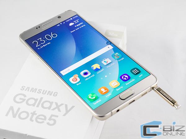 Review : Samsung Galaxy Note 5 ต่อยอด S-Pen กับกล้องเทพในรุ่นที่ 5