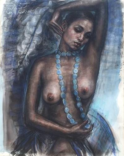 """ชม """"ผู้หญิงเปลื้องผ้า""""   ผ่านภาพถ่ายและภาพวาดของศิลปินกลุ่ม """"ปักษ์ใต้ลาติน"""""""