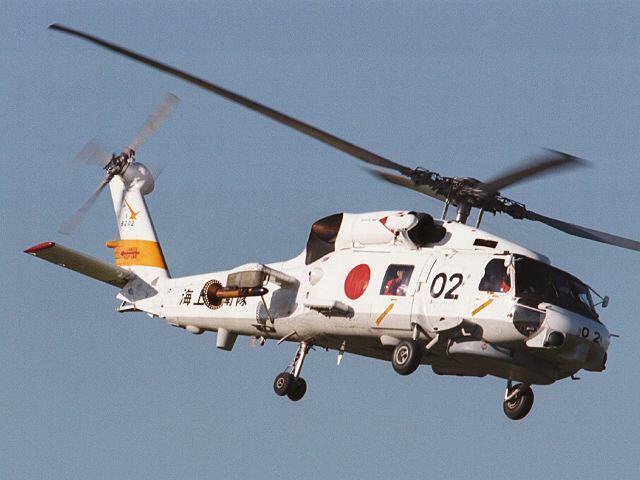 เฮลิคอปเตอร์ตรวจการณ์ทางทะเล SH-60K