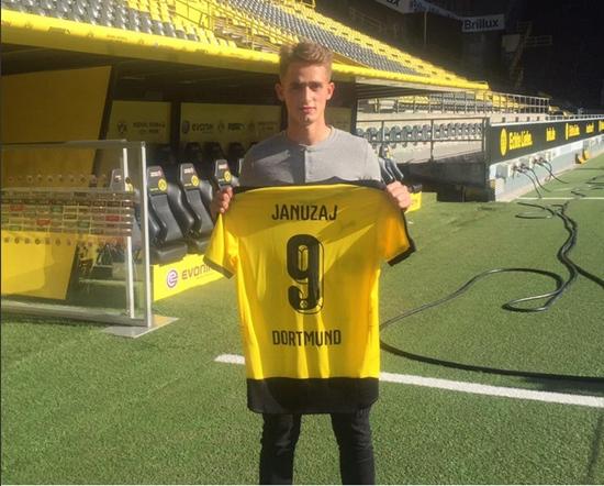 อัดนาน ยานาไซ เปิดตัวกับ ดอร์ทมุนด์ (เครดิตภาพ :twitter Borussia Dortmund)