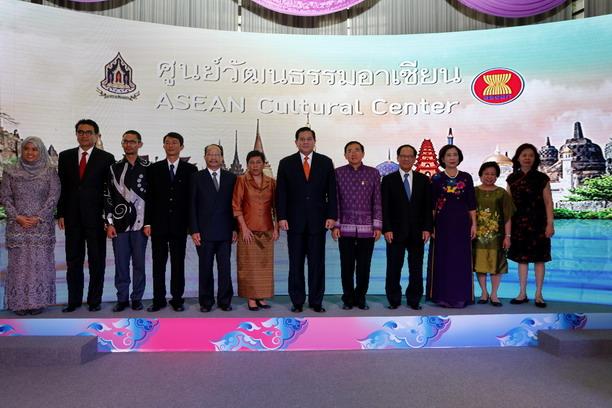 เปิดศูนย์วัฒนธรรมอาเซียนแห่งแรกในกลุ่มอาเซียน
