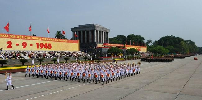เวียดนามฉลองวันชาติครบ 70 ปี จัดพิธีสวนสนามยิ่งใหญ่