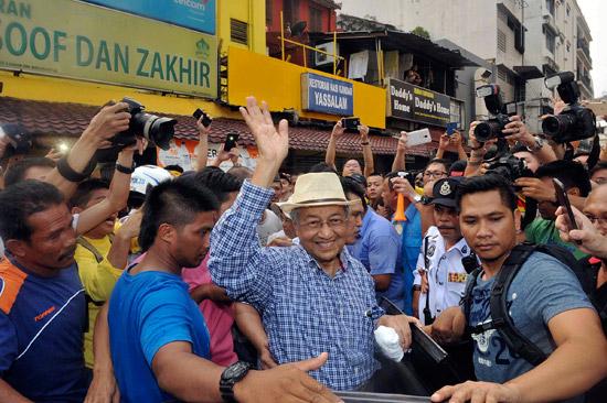 Dr.M (Mahathir Mohamad) เข้าร่วมกับม็อบเสื้อเหลืองในมาเลเซีย