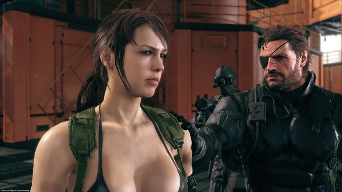 """โคนามิ เตือนภัยผู้เล่น MGS V ระวังเซฟมีปัญหาเพราะสาว """"Quiet"""""""