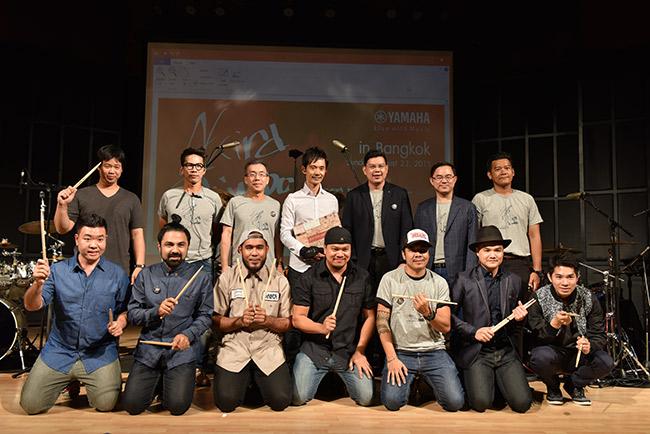 Akira Jimbo มือกลองระดับโลก โชว์ Hybrid Drum เอาใจแฟนพันธุ์แท้ชาวไทย