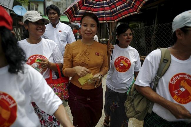 พรรคการเมืองพม่าลงพื้นที่หาเสียงชูสโลแกนพัฒนา-เปลี่ยนแปลง