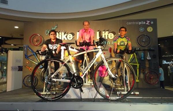"""เซ็นทรัลฯ ชลบุรี จัดกิจกรรม """"Chonburi Bike for life 2"""""""
