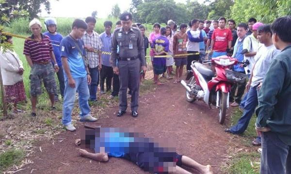 พบศพ ผญบ.ในสระแก้วถูกยิงดับใกล้นาข้าว ชาวบ้านเชื่อฆ่าตัวตาย